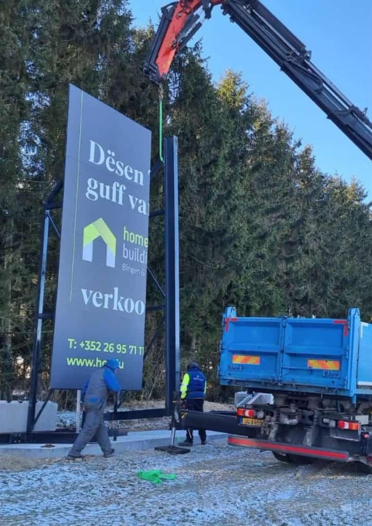 Neue Wohnsiedlung in Marnach